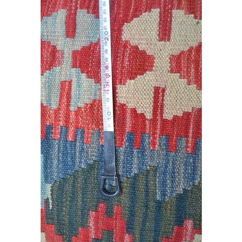 exclusive  Vloerkleed Tapijt Kelim 485x309 cm Kleed Hand Geweven Kilim