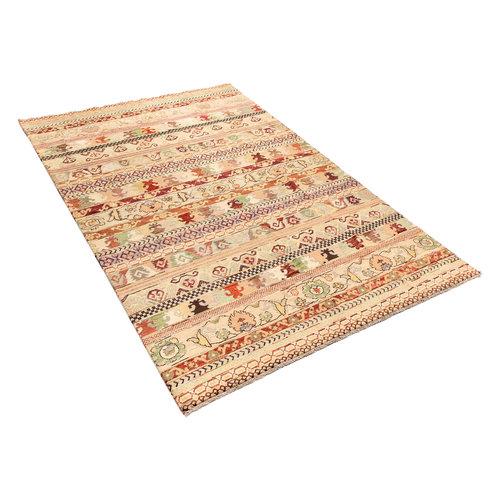 Handgeknoopt Modern Art tapijt 298x203 cm  oosters kleed vloerkleed