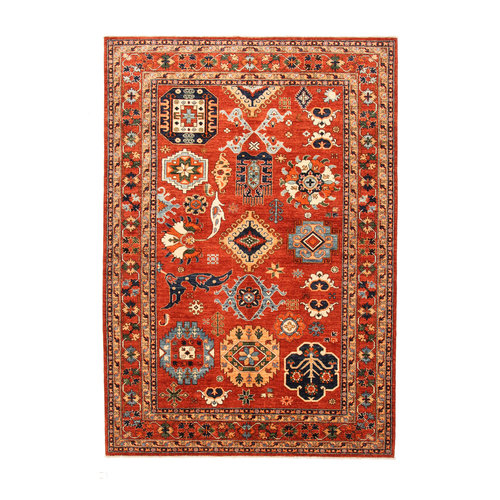 super fijn oriental kazak vloerkleed 292x203 cm