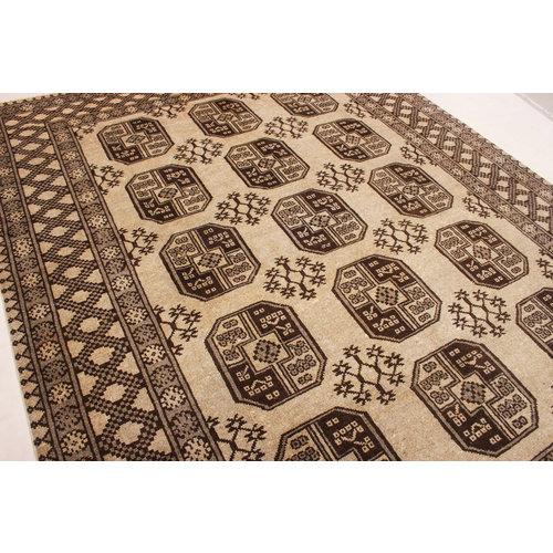 afghan aqcha tapijt hand geknoopt 242x195 cm