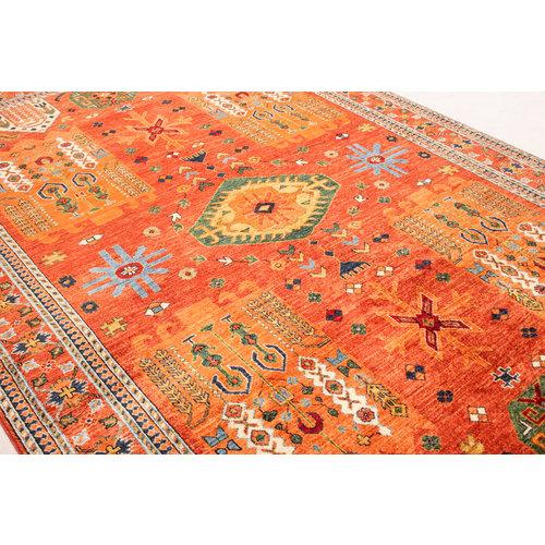 super fijn oriental kazak vloerkleed  Handgeknoopt  Tapijt 301x198 cm