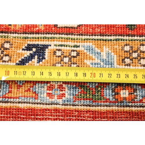 super fijn oriental kazak vloerkleed  Handgeknoopt  Tapijt 294x206 cm