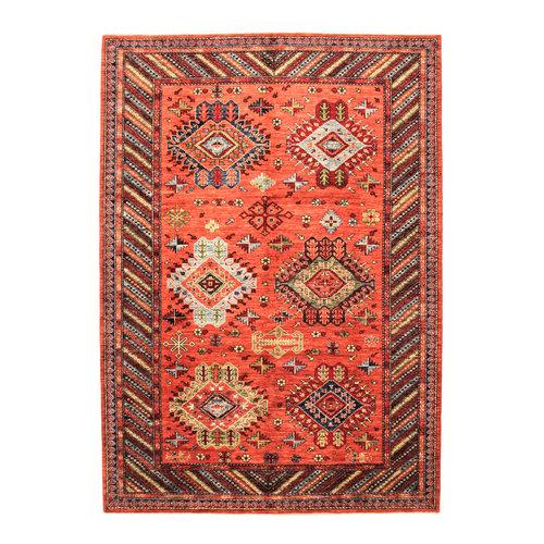 Hand knotted super fine kazak Ghazny Wool 292x207  cm Area Rug Carpet 9'5x6'7 ft