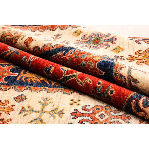 super fijn oriental kazak vloerkleed  Handgeknoopt  Tapijt 310x199 cm