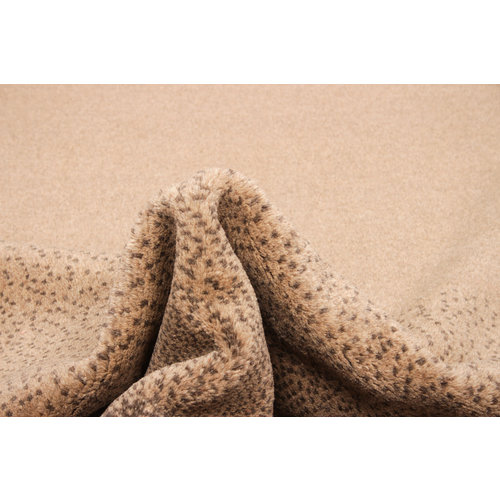 Hand knotted 8'3x6'5 ft Modern Art Ghazny Wool Rug 253x200 cm  Abstract Carpet