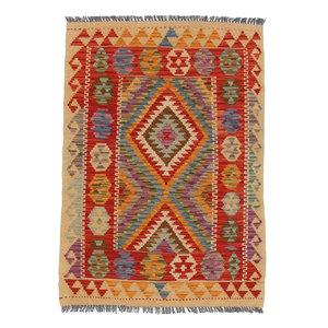 exclusive  Kelim Teppich 123x85 cm afghan kilim teppich