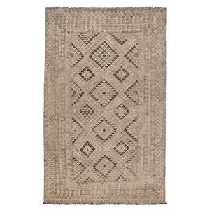 Grau natürlich kelim teppich 316x200 cm afghan kilim teppich