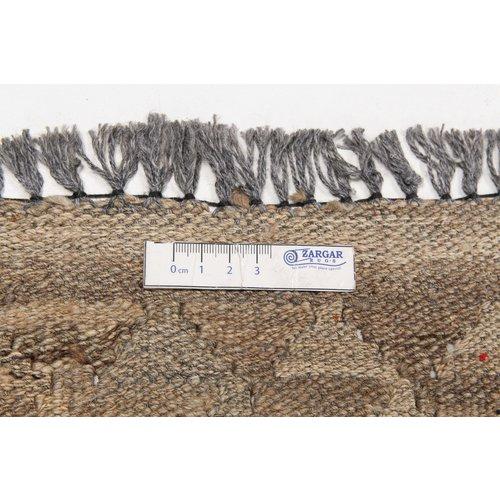 Grau natürlich kelim teppich 299x205  cm afghan kilim teppich
