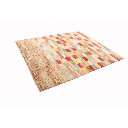 Handgeknüpft Modern Art 238x196 cm Abstrakt Wolle Teppich