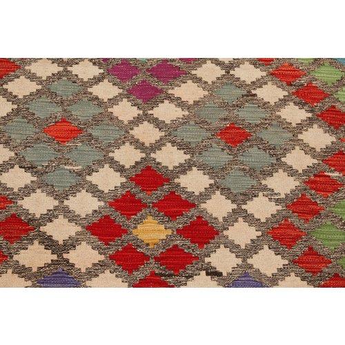 exclusive  Vloerkleed Tapijt Kelim 235x178 cm Kleed Hand Geweven Kilim
