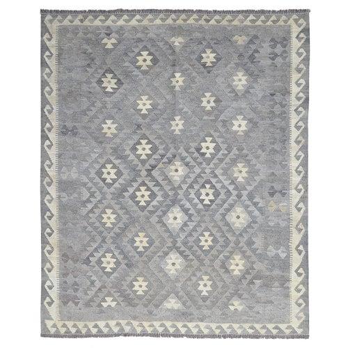Natural Vloerkleed Tapijt Kelim Hand Geweven Kelim Kleed 194x160 cm