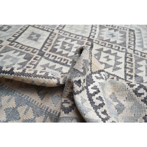 Natural  Classic Hand woven wool kilim Carpet Kilim Rug 6'62X5'05