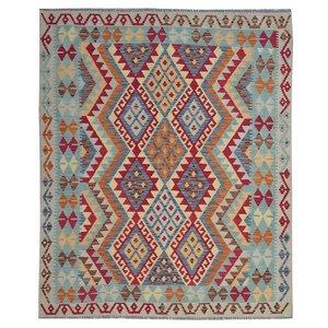 Kelim Teppich 189X155 cm afghan kelim teppich