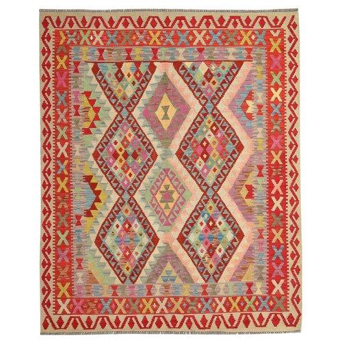 Oriental Kelim Kleed 202X162 cm Vloerkleed Tapijt Kelim Hand Geweven