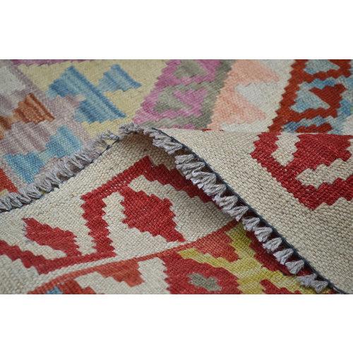 Oriental Kelim Teppich 202X162 cm afghan kelim teppich