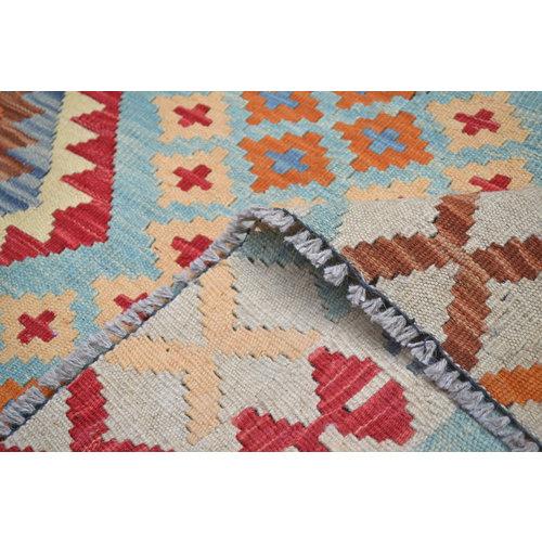 Sheep Quality Wool Hand woven Afghan kilim Carpet Kilim  Area Rug 6'1x4'9