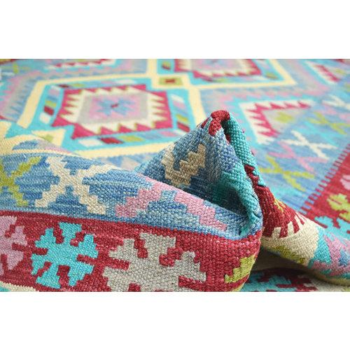 Kelim Teppich 194x157 cm afghan kelim teppich
