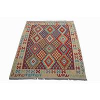 Kelim Teppich  200x154 cm afghan kelim teppich