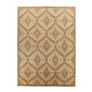Handgeknüpft Modern ikat 372x268 cm Abstrakt Wolle Teppich