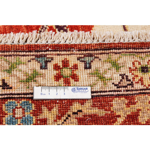 Hand knotted 7'11x5'7 Suzani  Wool Rug 242x171 cm  Oriental Carpet