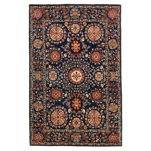 Handgeknüpft Suzani Orientalisch Wolle Teppich  256x166 cm