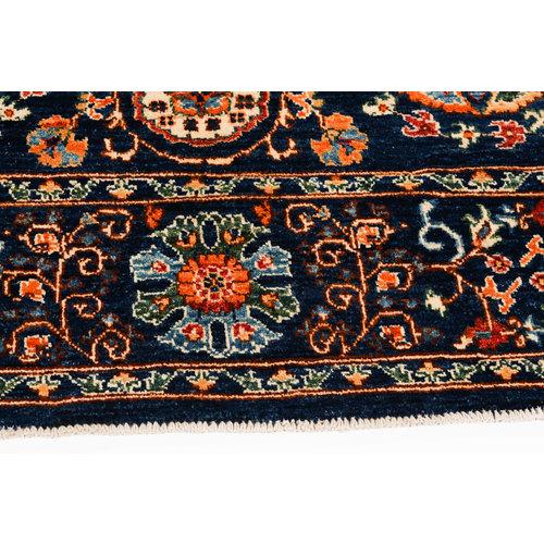 Handgeknoopt Suzani kleed 256x166 cm oosters tapijt vloerkleed