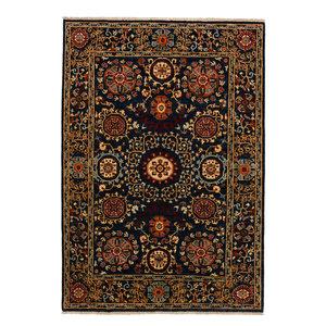 Handgeknoopt Suzani kleed 248x172 cm oosters tapijt vloerkleed
