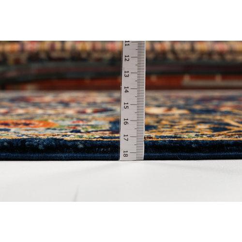 Handgeknoopt Suzani kleed 248x1752cm oosters tapijt vloerkleed