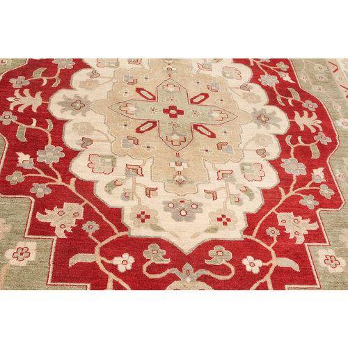 original ziegler  farahan hand geknoopt tapijt 363x271 cm