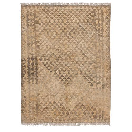 Grau natürlich kelim teppich 201x156 cm afghan kilim teppich