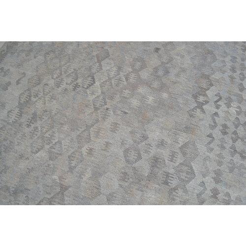 Grau natürlich kelim teppich 299x215 cm afghan kilim teppich