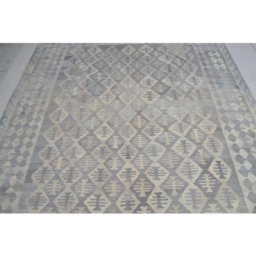 Grau natürlich kelim teppich 300x204 cm afghan kilim teppich