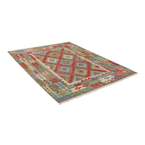 exclusive Kelim Teppich  202x153 cm afghan kilim teppich