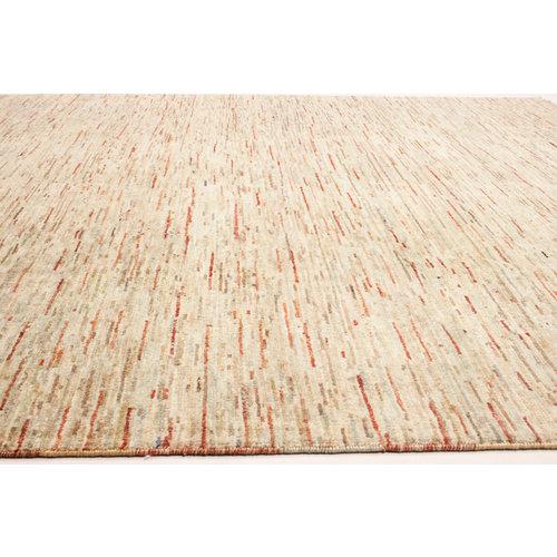 Handgeknoopt Modern Art tapijt 251x203 cm  oosters kleed vloerkleed