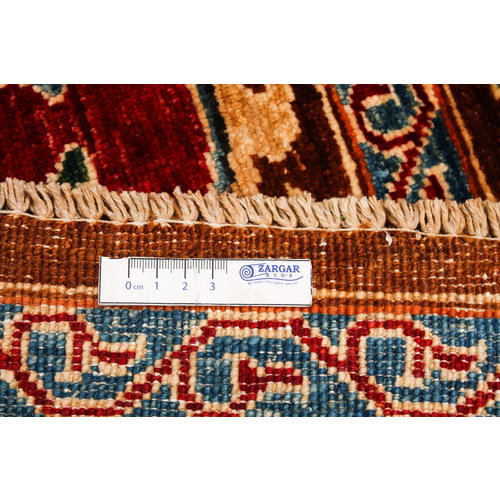 Hand knotted 9'1 x 6'7 Suzani  Wool Rug 278x203 cm  Oriental Carpet