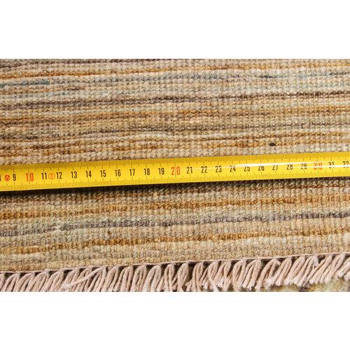 Handgeknüpft Modern Art 257x193 cm Abstrakt Wolle Teppich