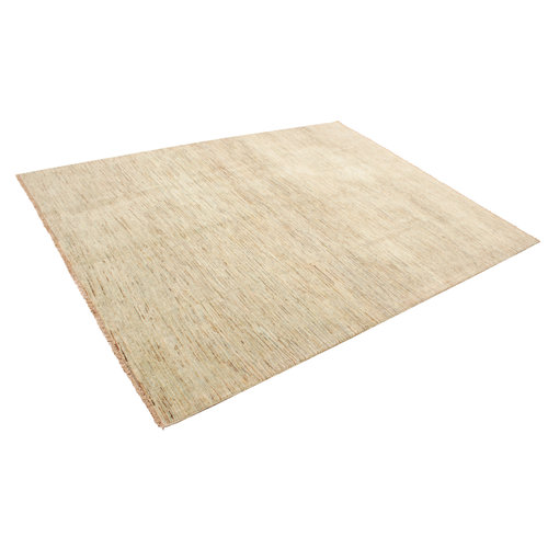 Hand knotted 8'3x6'3 ft Modern Art Sheep Wool Rug 253x193 cm Area rug Carpet
