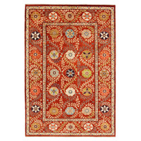 Hand knotted 9'7 x 6'6 Suzani  Wool Area Rug 293x200 cm Oriental Carpet