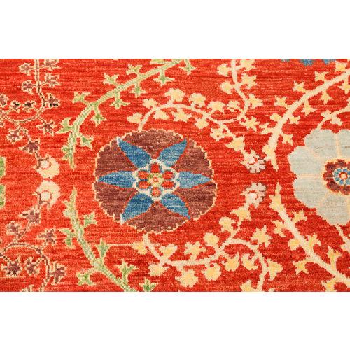 Handgeknoopt Suzani oosters kleed tapijt 301x201 cm  vloerkleed      - Copy