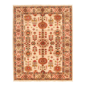 Farahan Hand knotted 8'3x6'8 ft ziegler rug Sheep Wool 255x208 cm Area Rug Carpet