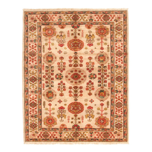 Hand knotted 8'3x6'8 ft ziegler rug Sheep Wool 255x208 cm Area Rug Carpet