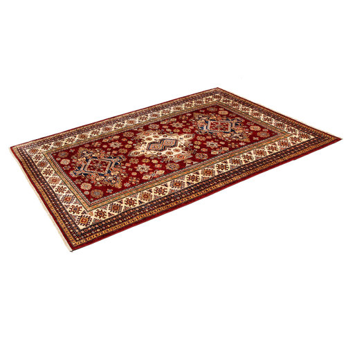 7'9 x 5'7 feet super fine oriental kazak 241x174 cm Area rug Hand knotted Carpet