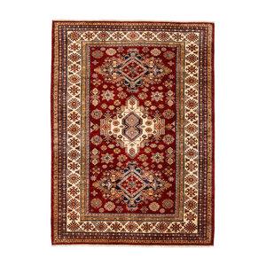super fein oriental kazak teppich 241x174 cm