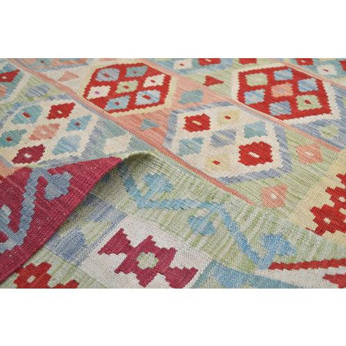 Kelim Teppich  213x157  cm afghan kelim teppich