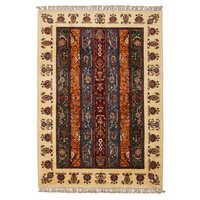 Hand knotted 8'0x5'6ft Modern Multicolor best Wool Rug 245x171cm Area rug Carpet