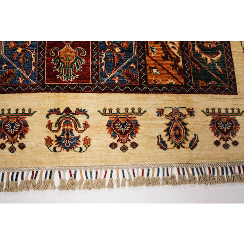 Handgeknüpft Modern  245x171 cm Abstrakt Wolle Teppich