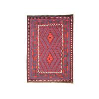 11'75x8'46 Sheep Wool Handwoven Multicolor Traditional Afghan kilim Area Rug