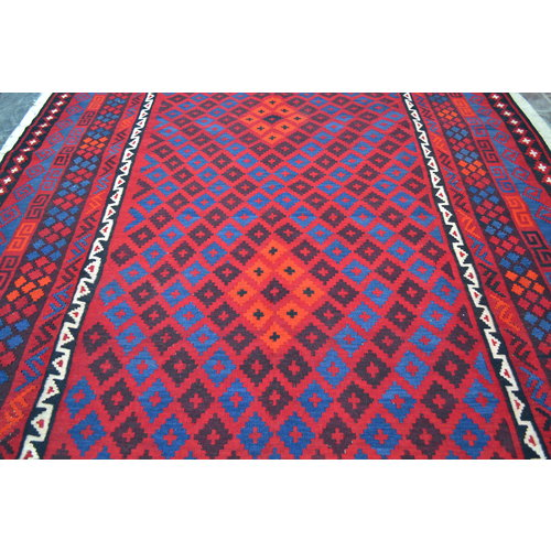 exclusive Kelim Teppich 358x258 cm afghan kilim teppich