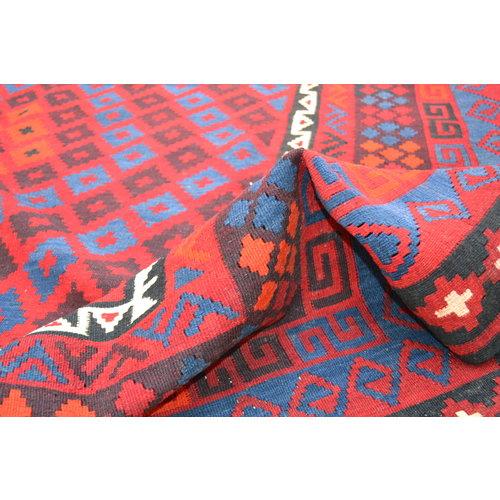 exclusive  Vloerkleed Tapijt Kelim 358x258 cm Kleed Hand Geweven Kilim