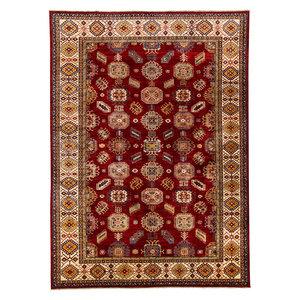 13'9 x 9'9  super fine oriental kazak 426x304 cm Area rug Hand knotted Carpet